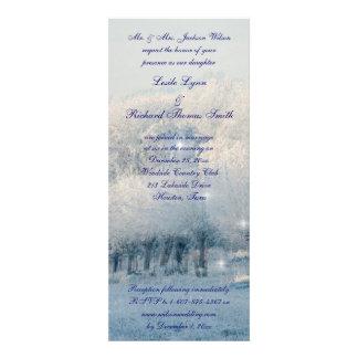 Winter Wonderland Wedding Invitation