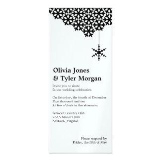Winter Wonderland Wedding Invite