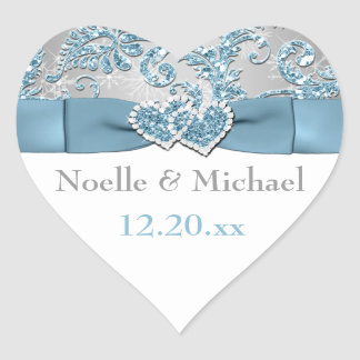 Winter Wonderland Wedding Sticker 6
