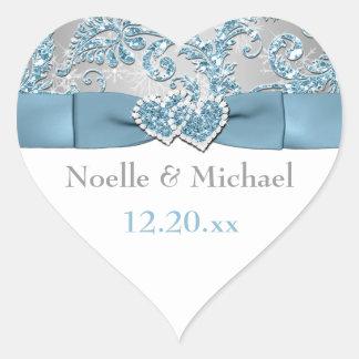 Winter Wonderland Wedding Sticker 6