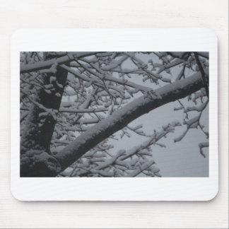 Winter wonderlands mouse pad
