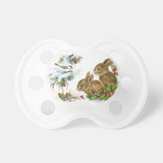 Winter Woodland Baby Pacifiers