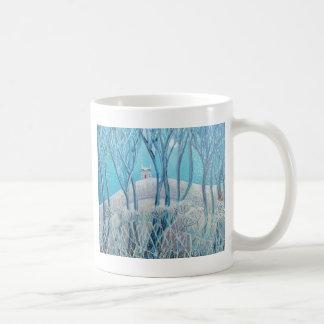 Winter Woodland Cottage Coffee Mug