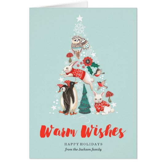 Winter Woodland Forest | Tree | Greetings Cards