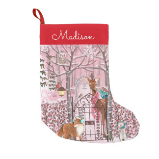 Winter Woodland | Holiday | Christmas Stocking