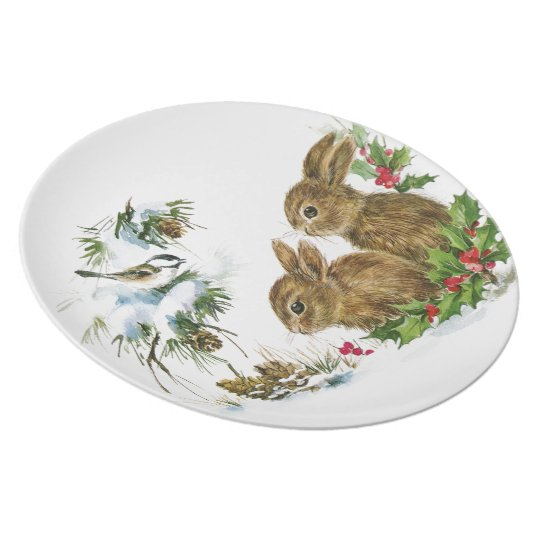 Winter Woodland Plate