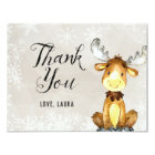 Winter Woodland Thank You Card