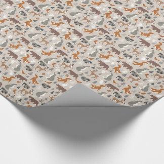 Winter Woodland Wrapping Paper