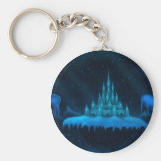 winter world holiday fantasy keychain