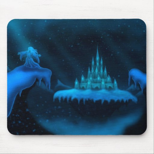 winter world holiday fantasy mousepads