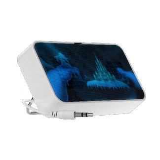 winter world holiday fantasy iPod speakers