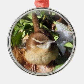 Winter Wren Christmas Ornament