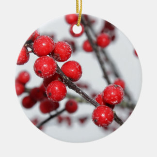Winterberry Christmas Ornament