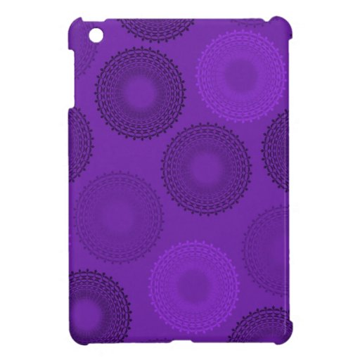 Winterberry Plum Violet Lace Doily Cover For The iPad Mini