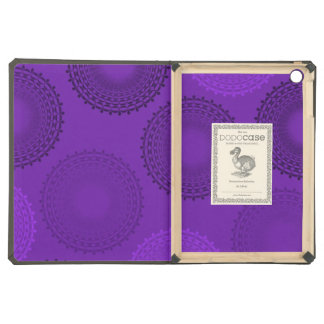 Winterberry Violet Lace Doily iPad Air Cover