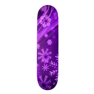 Winterberry Wonderland Snowflakes Skateboard Decks