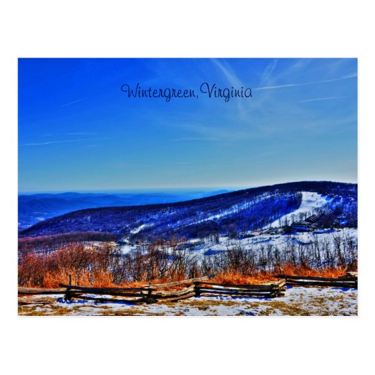 Wintergreen,Virginia Postcard