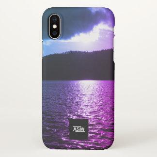 WinterLake Apple iPhone X Hard Shell Phone Case