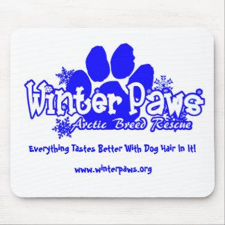 WinterPaws Logo Mousepad