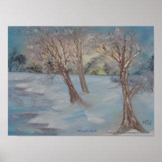 Winter's Arch Print