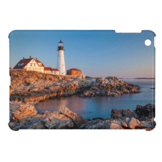 Winters dawn at Portland Head Lighthouse iPad Mini Cases