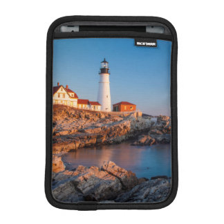 Winters dawn at Portland Head Lighthouse iPad Mini Sleeve
