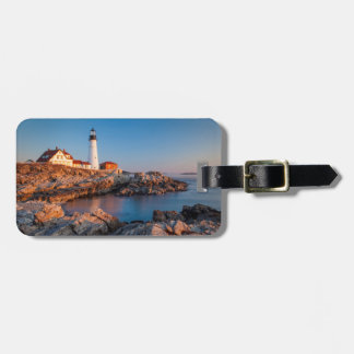 Winters dawn at Portland Head Lighthouse Luggage Tags