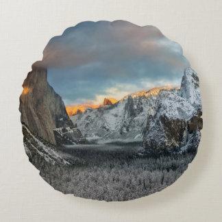 Winter's Mark Round Cushion