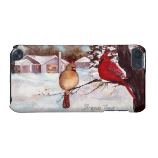 Winter's Serenity Cardinal iPod Touch (5th Generation) Case