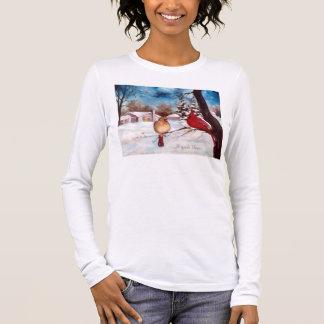 Winters Serenity Cardinal Tshirt