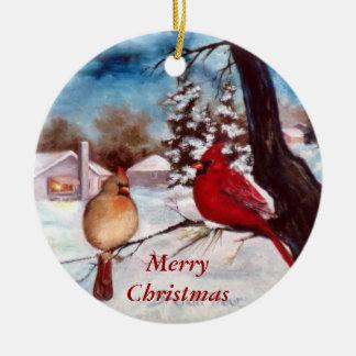 Winters Serenity Christmas Ornament