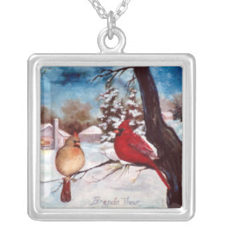 Winters Serenity Silver Plated Necklace