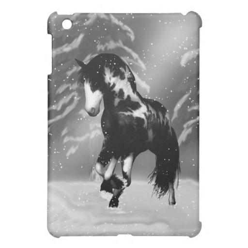 Winter's Tale - Horse In The Winter Snow -  iPad Mini Covers