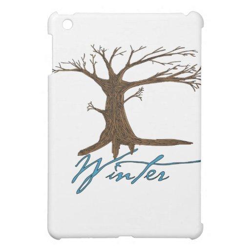 Winter's tree iPad mini cover