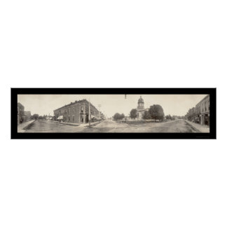 Winterset Iowa Photo 1910 Poster