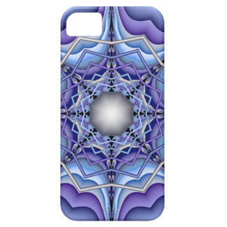 Wintertime, decorative abstract iPhone 5 case