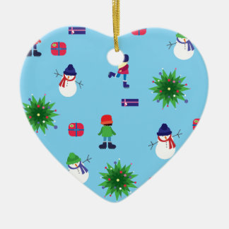 Wintertime Ice Rink Christmas Ornament
