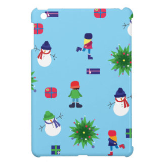 Wintertime Ice Rink Cover For The iPad Mini