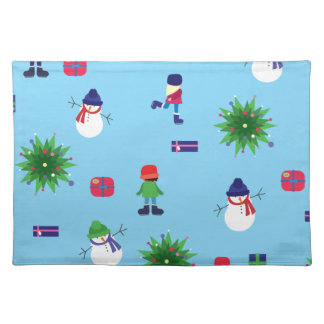 Wintertime Ice Rink Placemat