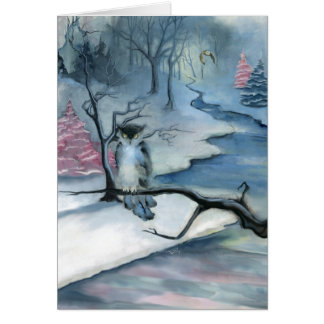 Winterwood Blank Greeting Card