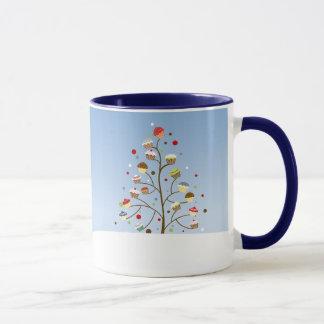 Wintery Cupcake Trees
