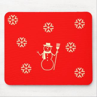 wintery mousepad