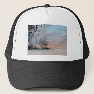 Wintery Sunrise Cap