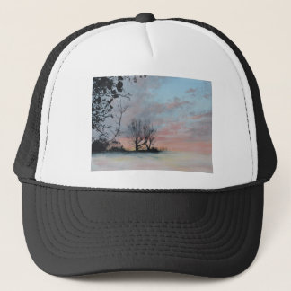 Wintery Sunrise Trucker Hat