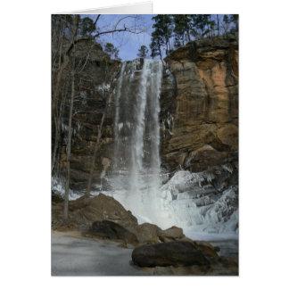 Wintery Waterfall Card