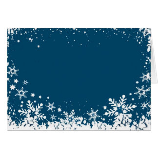 WINTERY WISHES GREETING CARD