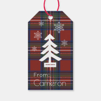 Wintry Forest Gift Tags