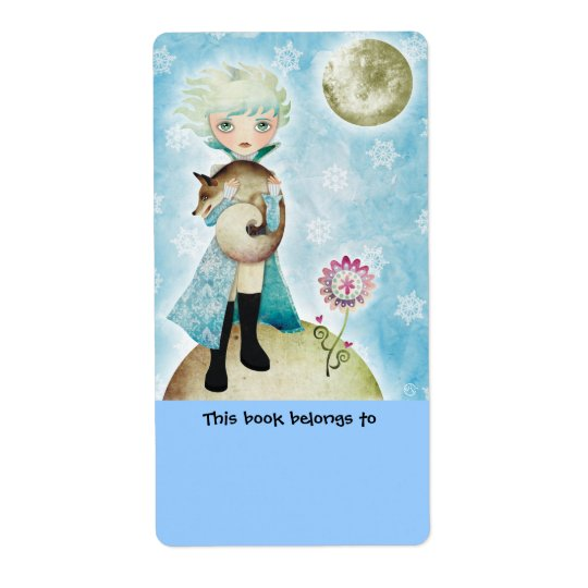 Wintry Prince Bookplates Labels