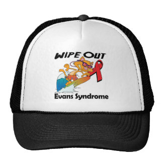 Wipe Out Evans Syndrome Mesh Hat