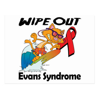 Wipe Out Evans Syndrome Postcard